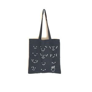 Madewell Black Cotton Canvas Tote Bag